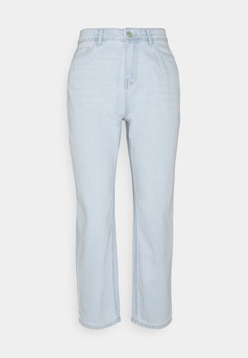 NMBROOKE - Relaxed fit jeans - light blue denim
