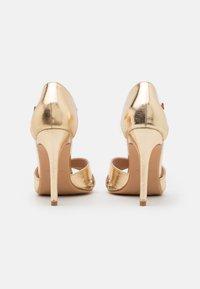 Anna Field - High heeled sandals - gold - 3