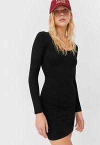 Stradivarius - Jumper dress - black - 0