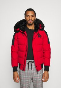 Kings Will Dream - PUFFER BOMBER JACKET - Winterjas - red - 0