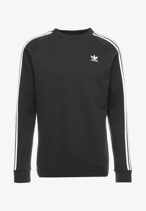 3 STRIPES CREW UNISEX - Mikina - black