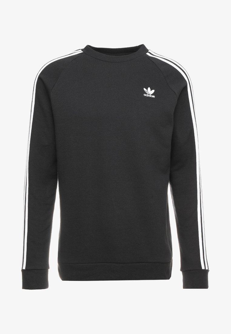 Aventurero Astronave gravedad  adidas Originals 3 STRIPES CREW UNISEX - Sweatshirt - black - Zalando.ie