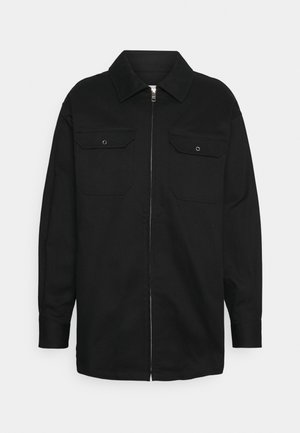 DENNIS OVERSIZED - Kort kappa / rock - black