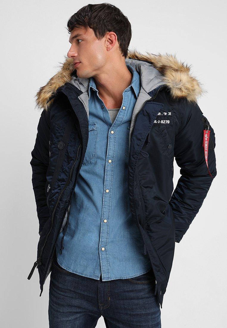 Alpha Industries - AIRBORNE - Winter coat - rep blue