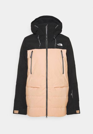 PALLIE JACKET - Ski jacket - black/morning pink