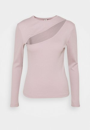 CUT OUT - Long sleeved top - mauve