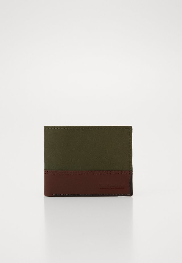MIXED BILLFOLD WITH COIN - Monedero - grape leaf