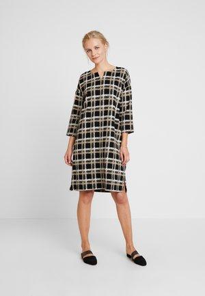 NEVA DRESS - Denní šaty - black