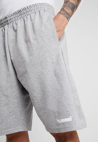 Hummel - HMLGO BERMUDA - Sports shorts - grey melange - 4