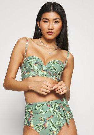 PANAMA BEACH - Bikini top - light khaki