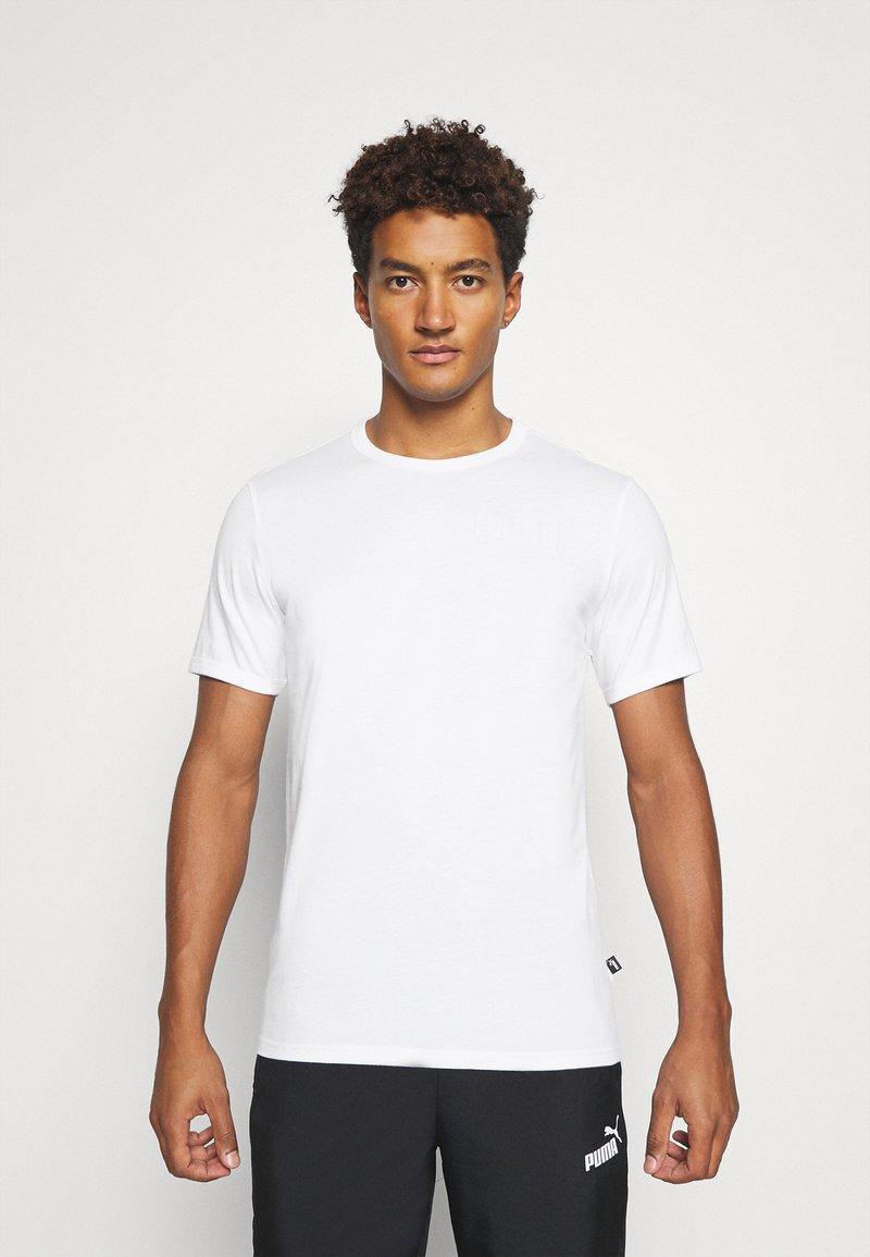 Puma - MODERN BASICS TEE - Print T-shirt - puma white