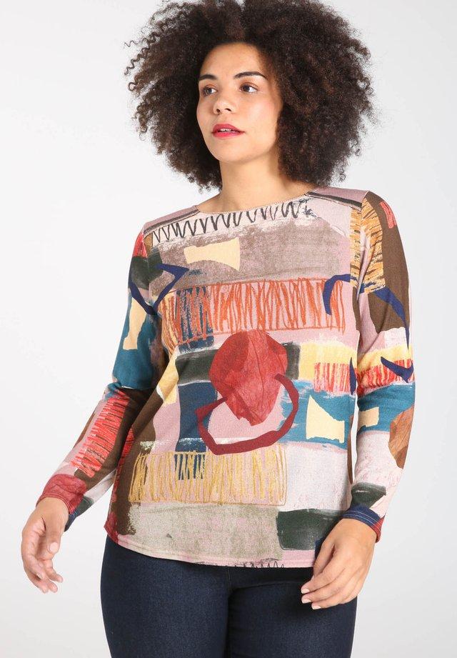 Maglietta a manica lunga - multi-coloured