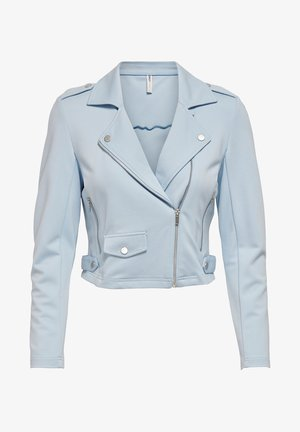 ONLPOPTRASH  - Faux leather jacket - cashmere blue