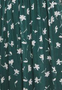 TOM TAILOR DENIM - PRINTED MIDI DRESS - Day dress - green - 2