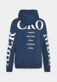 Abercrombie & Fitch - SCALE PRINT LOGO - Sweatshirt - blue - 1