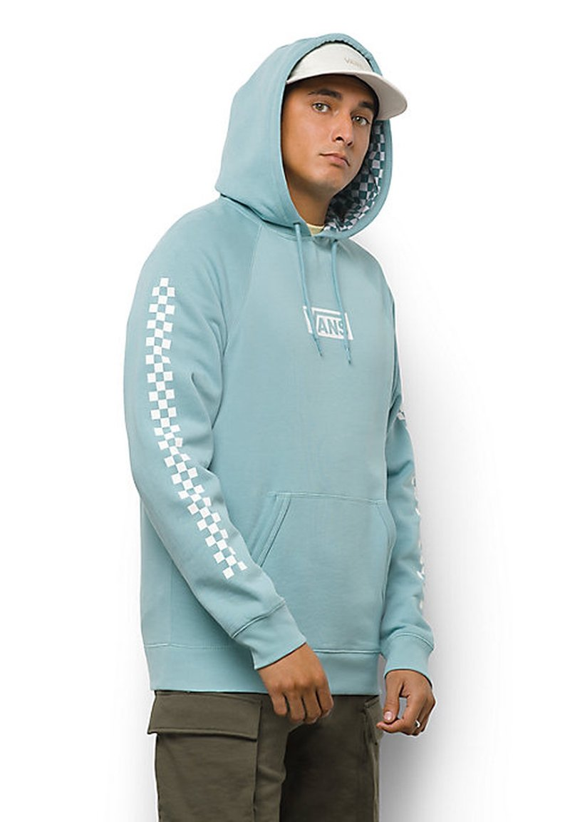 Vans - MN VERSA STANDARD - Sweatshirt - cameo blue