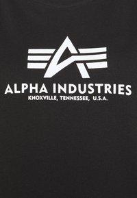 Alpha Industries - BASIC LONG - Jersey dress - black - 5