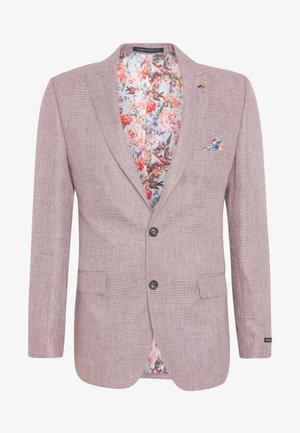 BLEND TEXTURE SUIT JACKET SLIM - Suit jacket - pink