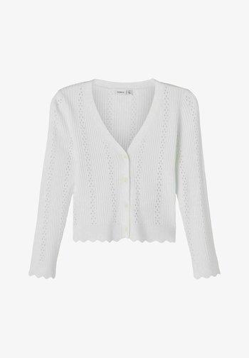 Cardigan - bright white