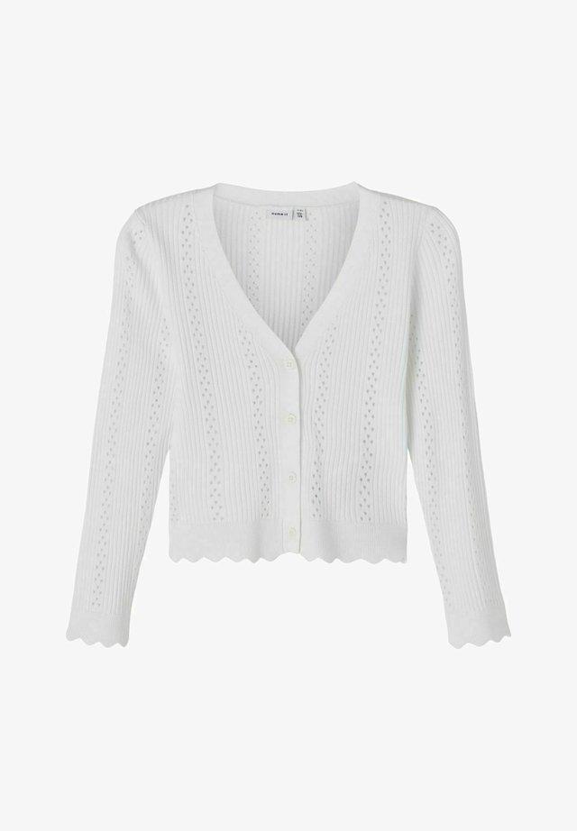 Vest - bright white