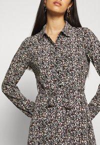 Vero Moda - VMJORDIN DRESS - Skjortekjole - black - 5