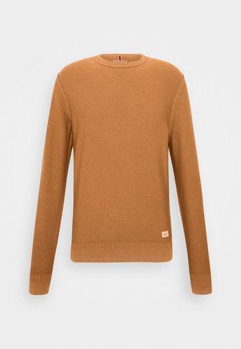 ESSENTIAL CREW - Pullover - tan