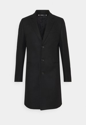 MENS OVERCOAT - Classic coat - black
