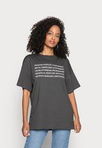 Even&Odd - T-shirts print - anthracite - 0