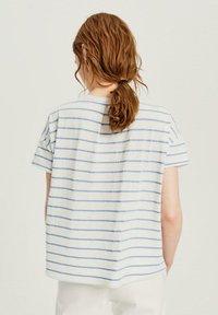 Opus - Print T-shirt - blue - 1