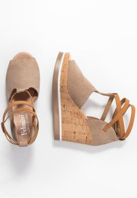Felmini - MARY - High heeled sandals - taupe - 6
