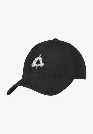 COOKIN - Cap - blk/silv