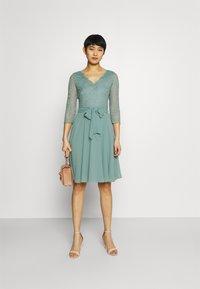 Esprit Collection - PER DRESS - Cocktail dress / Party dress - dark turquoise - 1