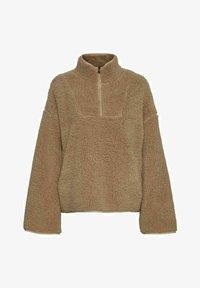 Noisy May - ANORAK - Fleece jacket - beige - 5