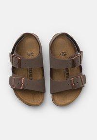 Birkenstock - MILANO UNISEX - Sandals - mocha - 3