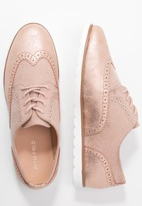 Anna Field Wide Fit - Lace-ups - rose gold - 3