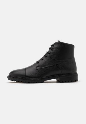 BRENSON - Lace-up ankle boots - black