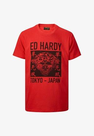 TOKYO-ED T-SHIRT - Print T-shirt - red