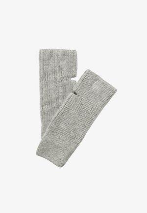 HANDGELENKWÄRMER  - Fingerless gloves - foggy melange