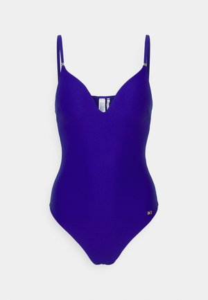 SOLID ONE PIECE - Plavky - sapphire blue