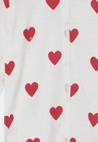 Petit Bateau - DORS BIEN SANS PIEDS - Pyjamas - marshmallow/terkuit - 2