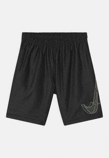 DRY - Sports shorts - black/white