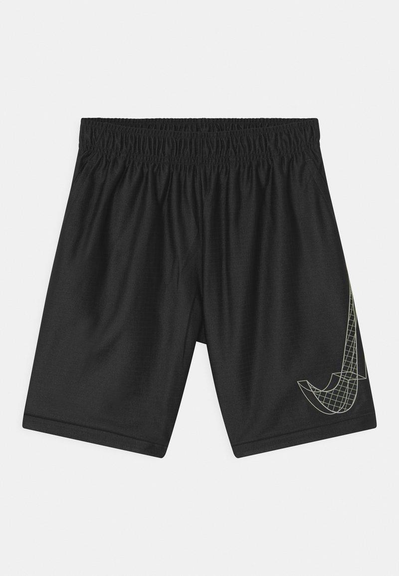 Nike Performance - DRY - Sportovní kraťasy - black/white