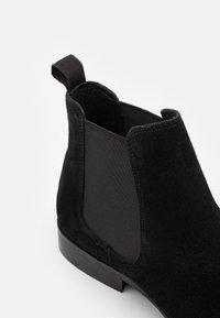 Zign - LEATHER  - Stiefelette - black - 5