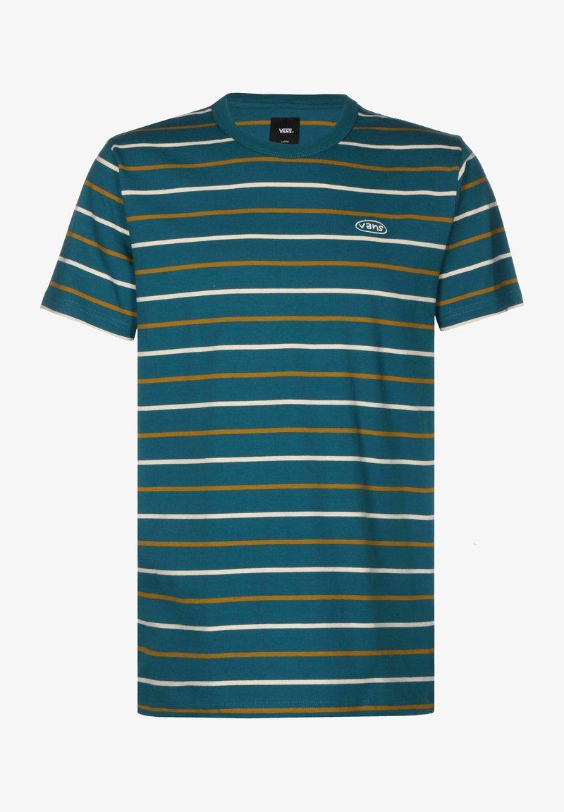 Vans - Print T-shirt - moroccan blue
