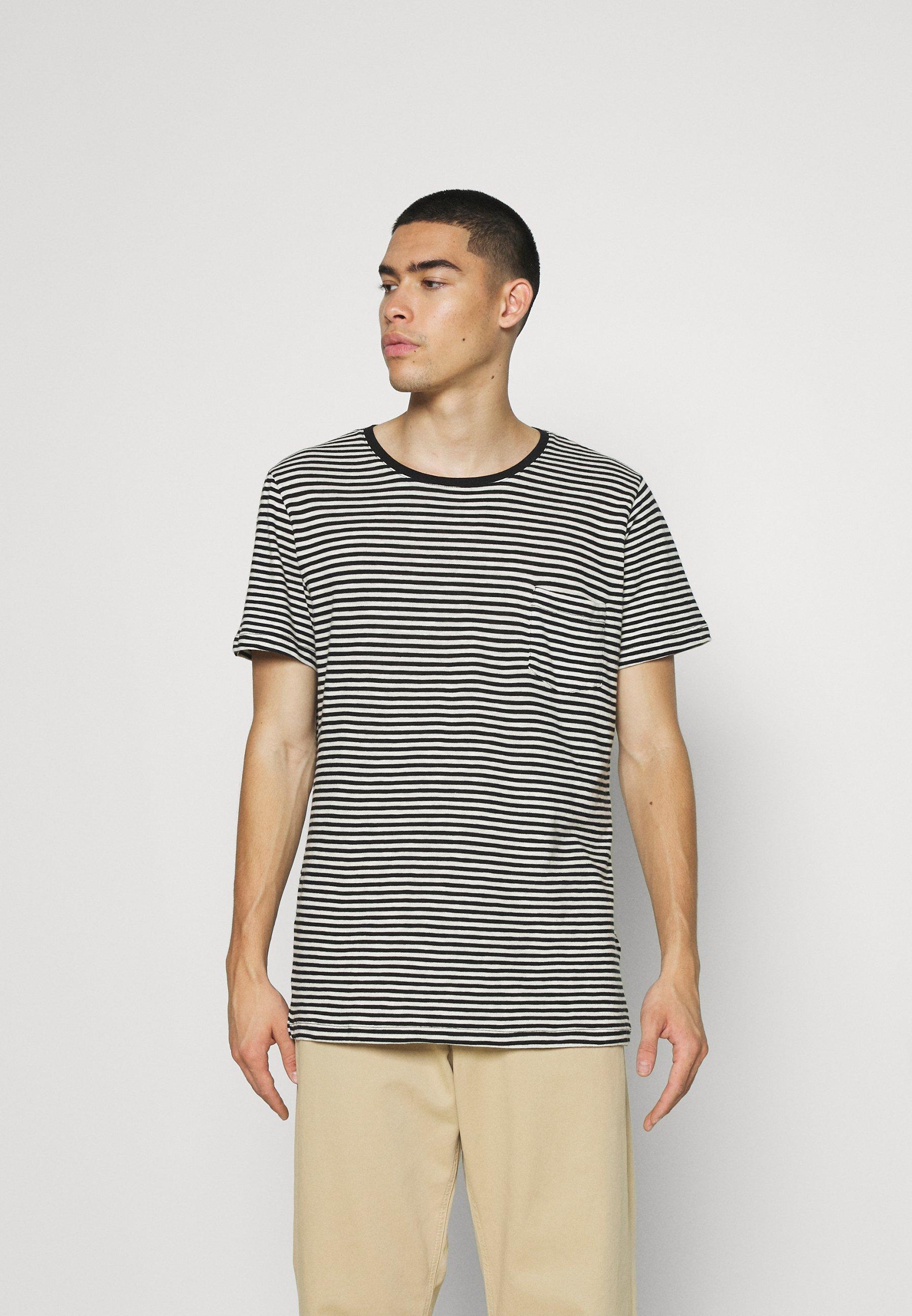 Men STRIPES UNISEX - Print T-shirt