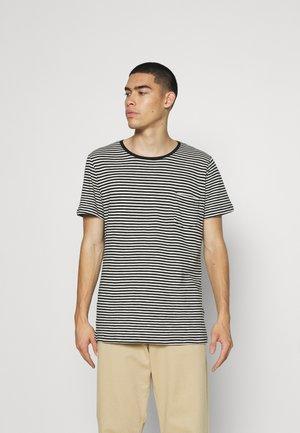 STRIPES UNISEX - Print T-shirt - black
