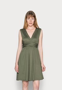 Anna Field - CACHE COEUR PRINTED DRESS - Jersey dress - dark green - 0