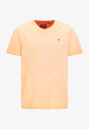 T-shirt - bas - fiery coral