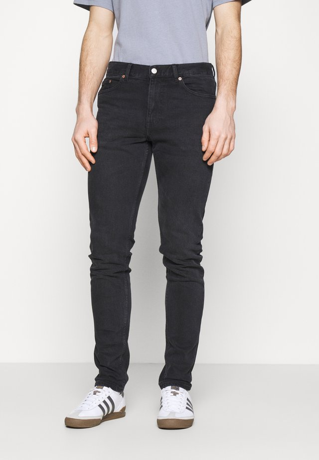 CLARK - Jeans Tapered Fit - black soot
