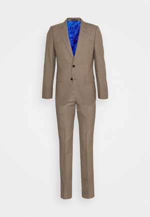 GENTS TAILORED FIT 2 BUTTON SET - Sako - brown